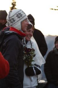 Kristy and David's wedding